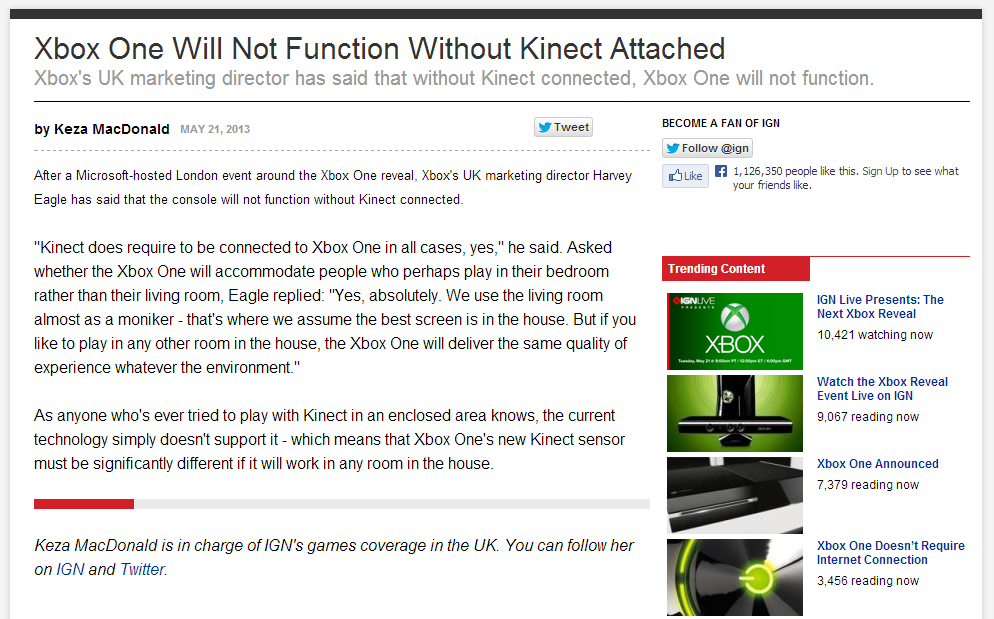 Xbox One is a trainwreck waiting to happen (No backwards
